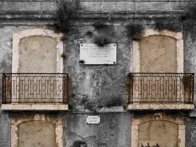 Casa onde viveu Júlio Castilho em ruína – Paço Lumiar – Lisboa (2/2)